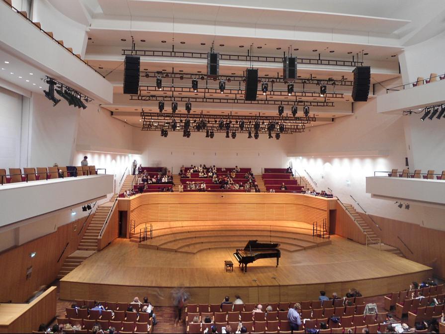 le conservatoire de reims et la salle pleyel christophe luck