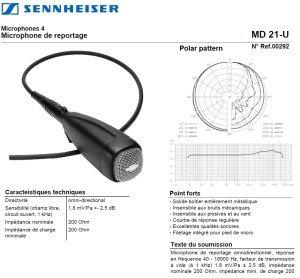 Sennheiser MD21U